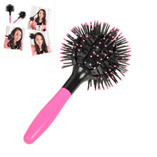 Japan 3D Bomb Curl Hair Brush Ball Styling Spherical Massage Comb Detangling Heat Resistant Hair Comb