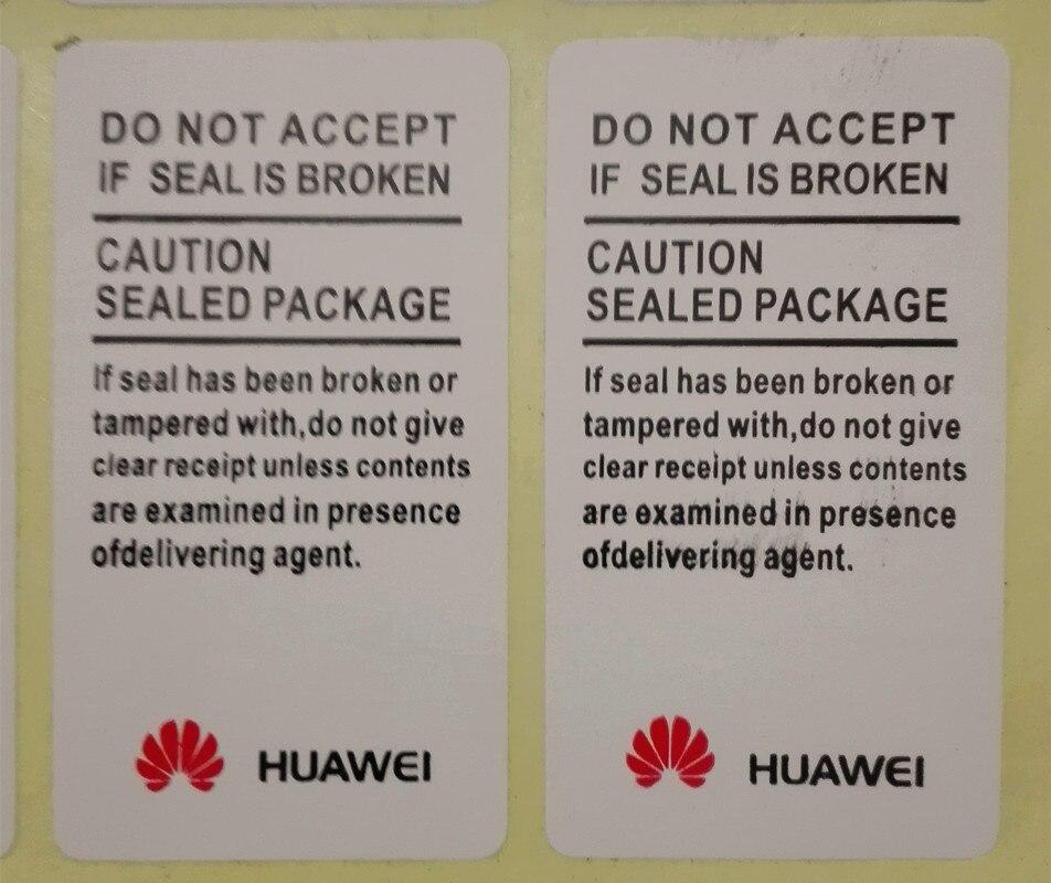 500 PCS/many Advanced Quality Sticker Huawei Guarantee Seal Label Stickers 4.5 X 2.5 Cm Free Shipping