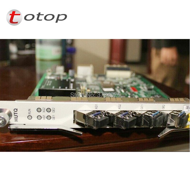 Zte hutq zte zxa10 c300 zte HUTQ Carta di Uplink con 4 pz moduli per zte OLT C300