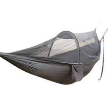 1-2 человека Кемпинг гамак с москитной сеткой Многофункциональный портативный гамак палатка-качели для пеших прогулок кемпинга