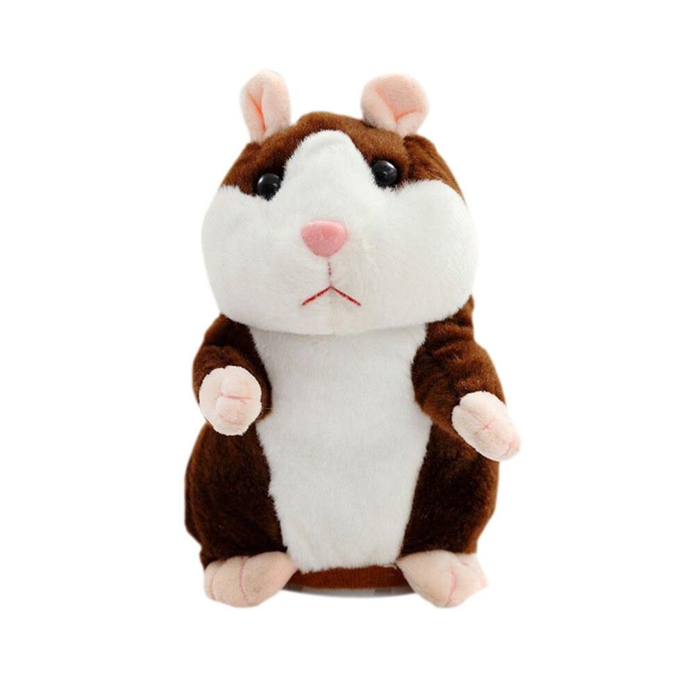 Милые Симпатичные Говоря Хомяк Плюшевые игрушки говорить запись звука игрушки для детей  ...