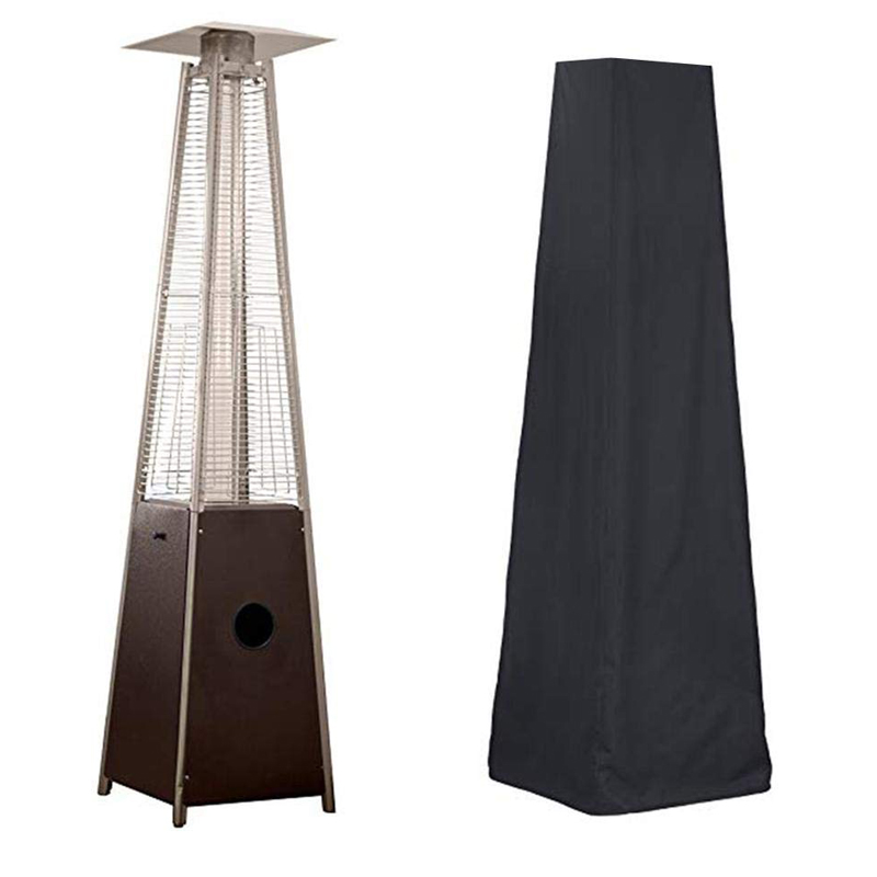 Patio Heavy Duty Living Room Waterproof Veranda Pyramid Heater Cover Protective Outdoor Furniture Dustproof Cover