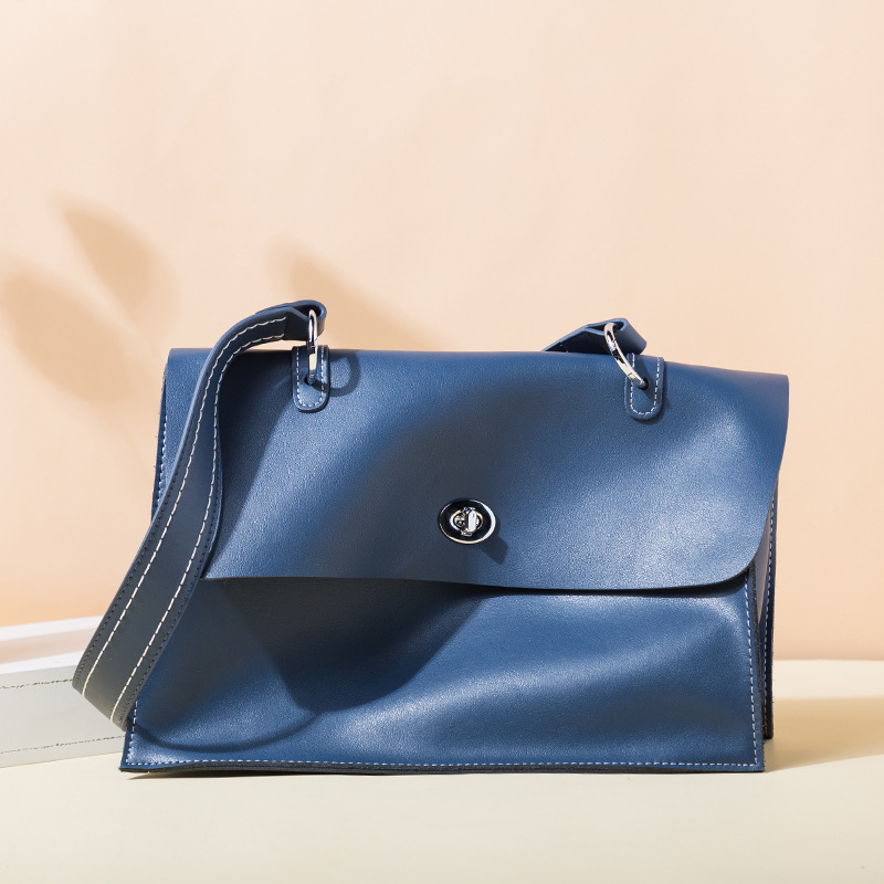 Vintage Handbags for Women  Leather Briefcase Simple Cross-shoulder Bags Large Capacity TotesVintage Handbags for Women  Leather Briefcase Simple Cross-shoulder Bags Large Capacity Totes