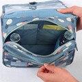 2016 Multifunction Nylon Make up Bags Organizer Bags For Women Cosmetic Bags Toiletry Kits deporte Travel Bags Ladies Bolsas