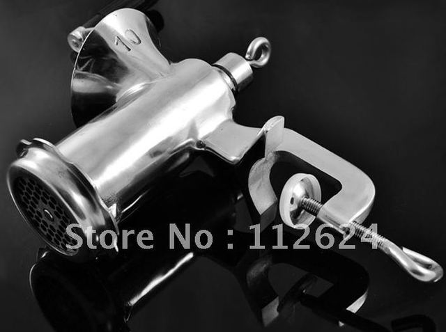 10# manual stainless steel meat grinder,meat mincer sausage grinder machine,stainless steel meat mincer machine