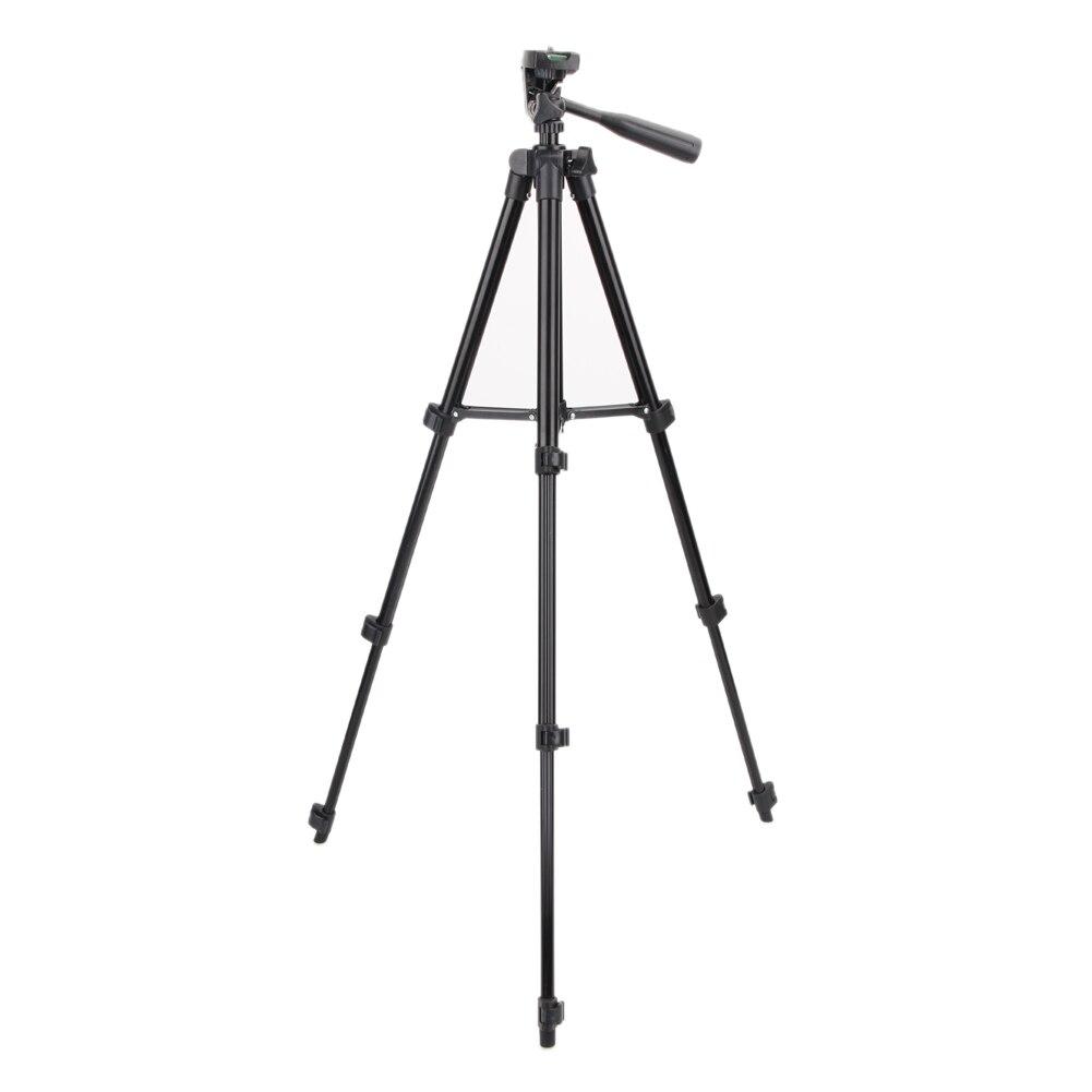 Vodool universal cámara digital portátil trípode ligero trípode Placa de liberación rápida con 1/4 Tornillo de montaje