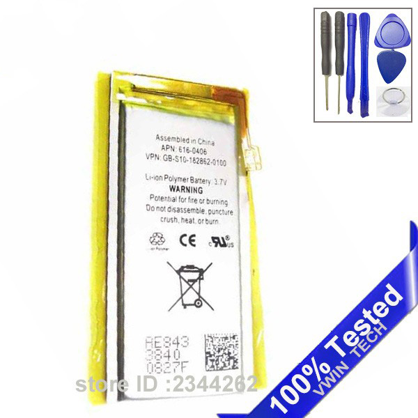 For Nano 4 Battery Replacement for iPod Nano 4 4th Gen SanErqi Battery(China)