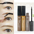 New Professional Waterproof eyebrow makeup kits Eye Tint My Brows Gel Make Up 3 Color Grey Coffee Brown Henna Tattoo Eyebrow Gel