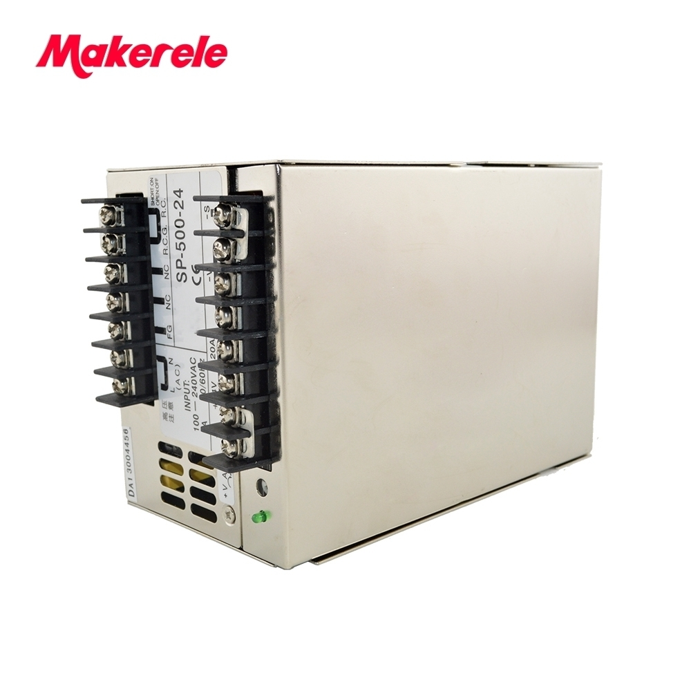 PFC function switching model power supply SP-500-27 18A 500w multi terminals 27vdc high hot selling monthly