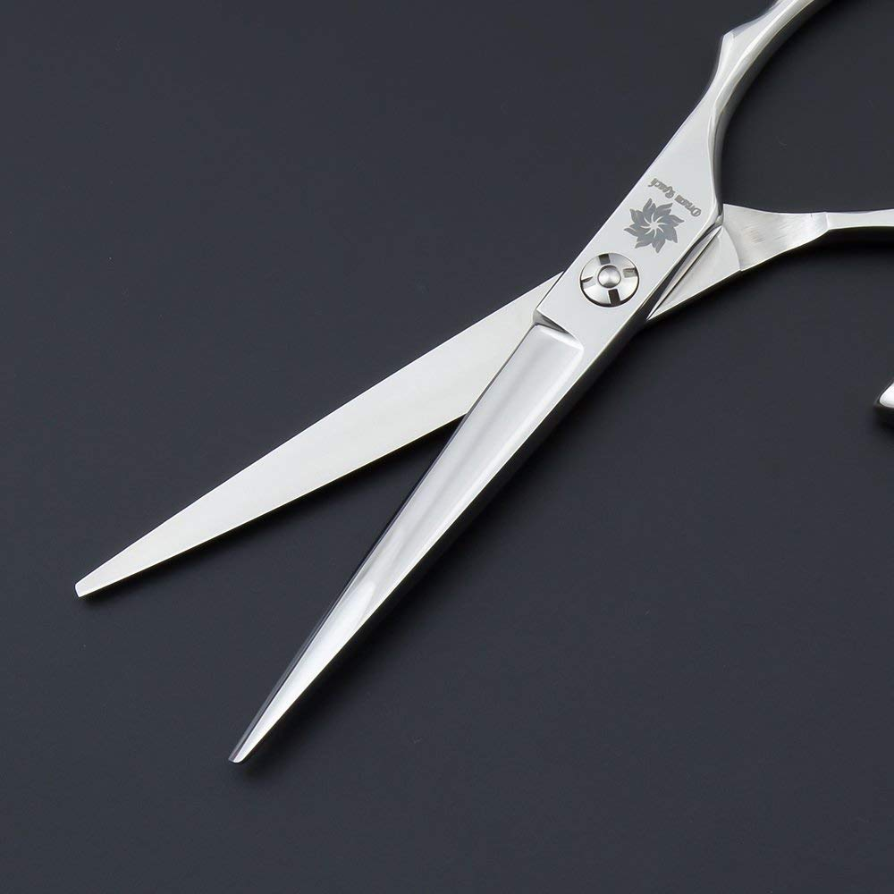 polegar giro profissional barbeiro navalha borda cabeleireiro corte em linha reta tesouras 04