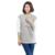 Hot Simple Suéter de Enfermería Tops de Maternidad lactancia Invierno Calentamiento Sudaderas Con Capucha de Manga Larga de Moda Suéter Grueso de Maternidad Camisetas