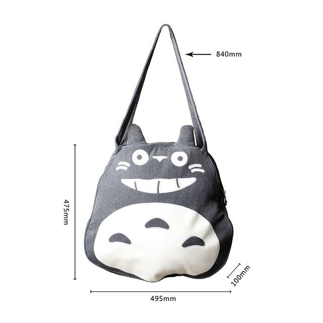 Totoro Women's Large Canvas Bag Handbag