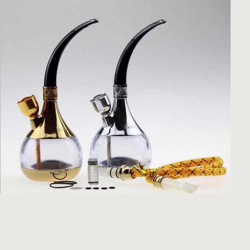 مرشح هدية كلاسيكية صغيرة شيشة تصفية الشيشة أنابيب مياه تدخين تبغ أنابيب مياه