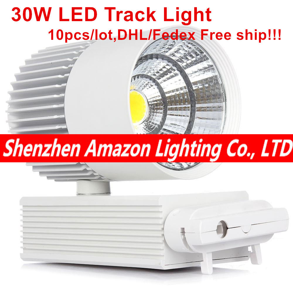 LED COB Track Light 30W Rail Lights Spotlight Clothing Shoe Shop Indoor Lighting 110V 120V 220V 240V Warm Cold Natural White моторезина dunlop d423 200 50 r17 75v tl