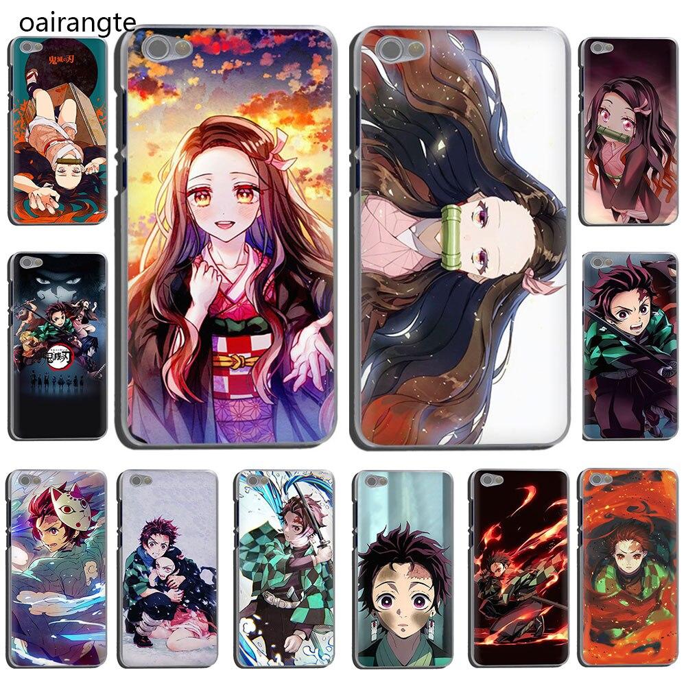 Anime Demon Slayer Kimetsu No Yaiba Hard Phone Cover Case For Xiaomi Redmi 5 Plus GO 6A S2 Note 8 5 6 7A Pro 4X K20 Pro