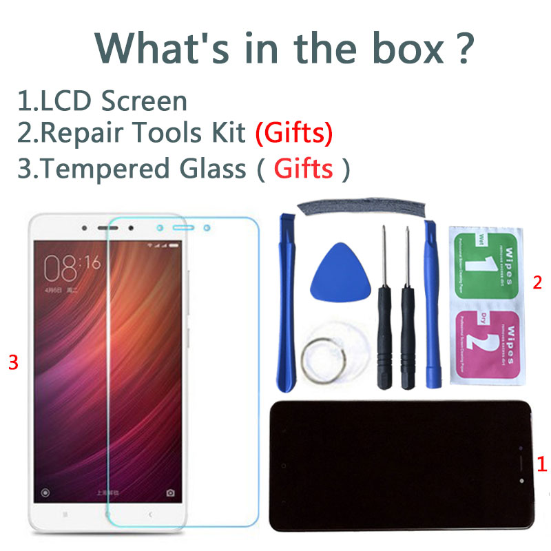 Image 3 - Tested LCD Display +Frame For Xiaomi Redmi Note 4 Global Version Snapdragon 625 Touch Screen LCD Digitizer Redmi Note 4X-in Mobile Phone LCD Screens from Cellphones & Telecommunications