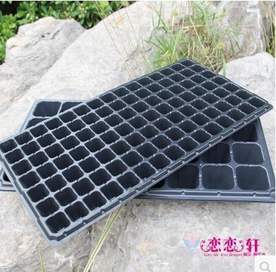 Δωρεάν αποστολή, 105 τρύπες, 3pcs / lot.wholesale, Πολλαπλών λειτουργιών δίσκο δενδρυλλίων / θρεπτικών πιάτων βρεφονηπιακός σάκος πλάκα / πάχυνση / κήπο