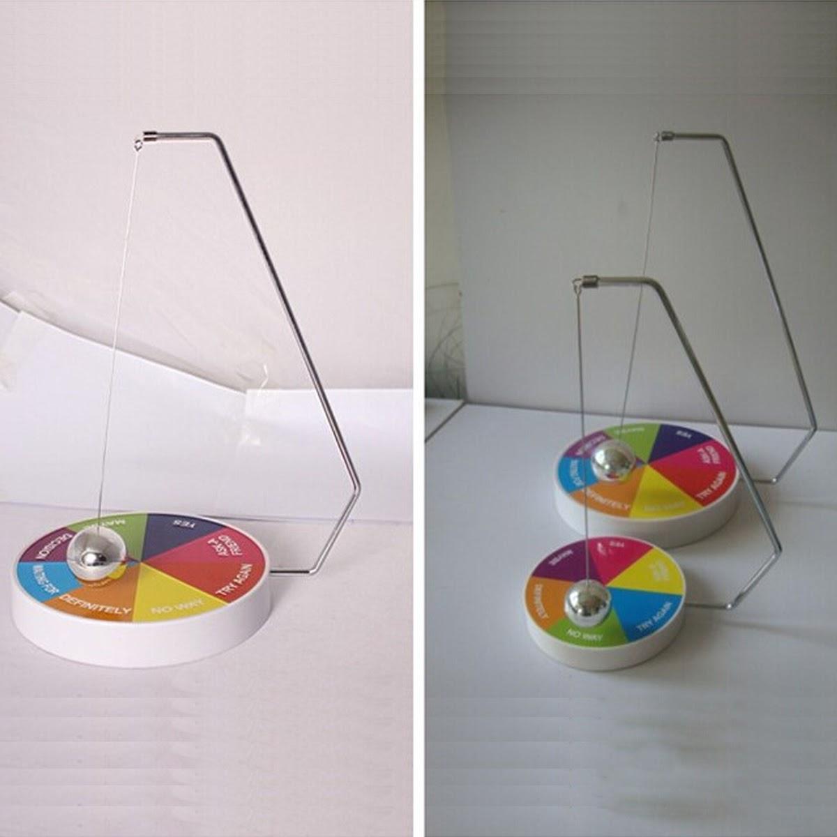 Magnetic Decision Maker Swinging Pendulum Game Fate Fun Desk Accessories Toys