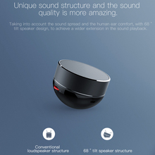 Black Mini Wireless Speaker with Microphone
