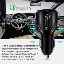 Olaf Car USB Charger Quick Charge 3 0 2 0 Mobile Phone Charger 2 Port USB Fast Car Charger for iPhone Samsung Tablet Car-Charger cheap Car Lighter Slot USB Qualcomm Quick Charge 3 0 Qualcomm Quick Charge 2 0 Apple Huawei xiaomi Samsung Universal CE RoHS PCT CCC