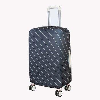 3c9c37397 La elasticidad de viaje equipaje cubierta protectora adecuado para 18-30  pulgadas maleta trolley caso cubierta de polvo accesorios de viaje