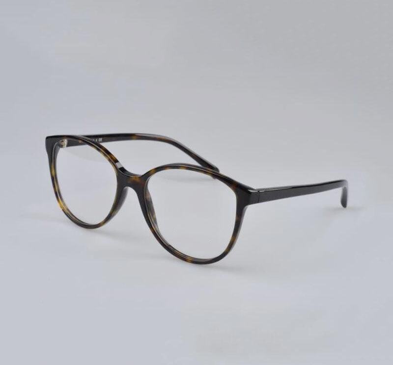 Best качество Новинка года Горячие для женщин Мода очки ацетат рамки рецепт Близорукость Оптические очки коробка для объектива чехол - Цвет оправы: Tortoise Leather box