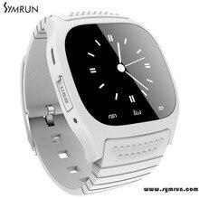 Symrun Neue Sport Bluetooth Smart Watch Armbanduhr M26-UHR Smartwatch Mit Zifferblatt Sms Erinnern Pedometer Dame Smartwatch