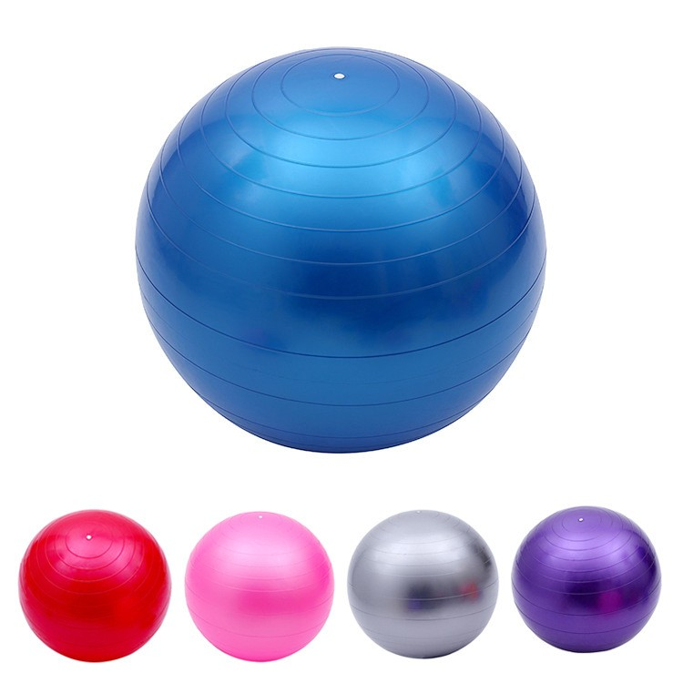 55cm Yoga ball anti-explosion pregnant slimming balance gym palla fitness ballon fitball exercise bosu swiss pilates sports ball