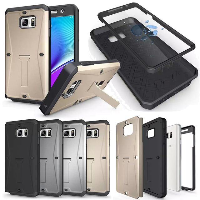 detailing 31cd0 68e19 US $6.99 |Future Extreme Case For Samsung Note 5 Note5 Silicone Shockproof  Strong Armor Hard Cover Case Samsung Galaxy Note 5 Defender-in Fitted Cases  ...