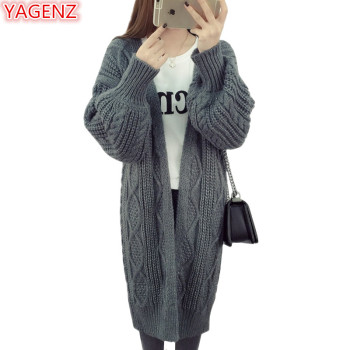 YAGENZ Ladies Knitted Sweaters Long Card...