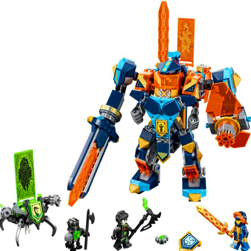 567Pcs Movie Knights High Tech Wizard Showdown Model Building Block Toys Compatible Legoe 72004 LEPIN 14043 Gift For Children