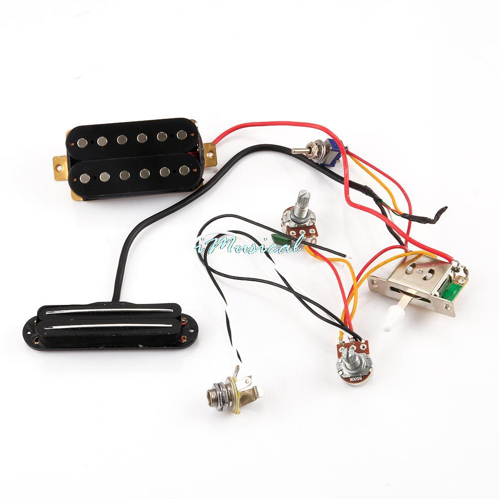 New Circuit Wiring Harness W Humbucker Pickup For Sgr Lpl Tl 3 Electric Guitar In Parts Accessories From Sports Entertainment On