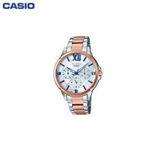 Наручные часы Casio SHE-3056SPG-7AUER женские кварцевые на биколорном браслете