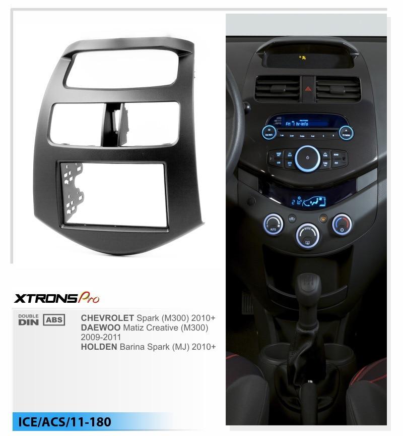 Xtrons Car Radio Fascia Forchevrolet Spark 2010 Daewoo Matiz Creative M300 2009 2011