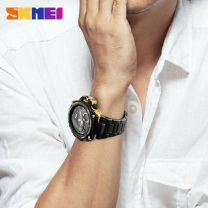 Image 5 - 2018 Skmei Luxury Brand Mens Sports Watches Dive 50m Digital LED Military Watch Men  Casual Electronics Wristwatches Relojes