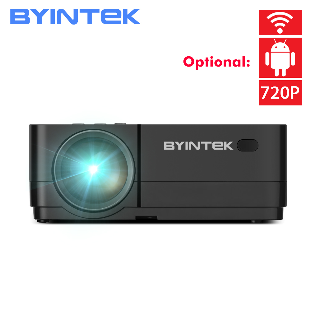 BYINTEK K7 Android Smart Wifi LED Mini Portable Video HD Projector For Iphone Ipad Smartphone Tablet