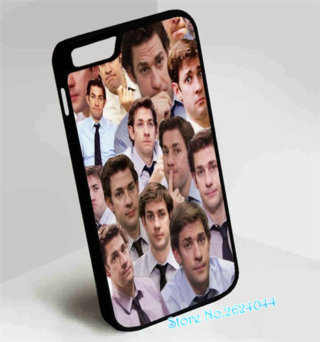 competitive price 53618 ceec1 Jim Halpert Faces The Office protection phone case cover for samsung ...