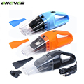 Onever 120W Portable Car Vacuum Cleaner Handheld Wet Dry Aspirador Super Suction Dust Cleaner Catcher Collector 5m Cable