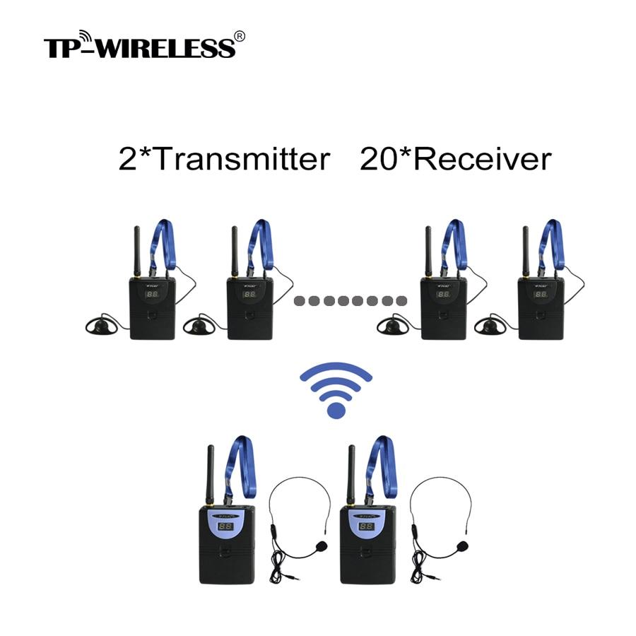 TP Wireless 2.4GHz Digital Wireless Tour Guide
