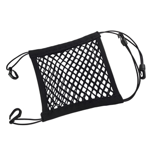 1X Universal Car Organizer Net Mesh Trunk goods Storage Seat Back Stowing Tidying mesh in trunk Bag Network Interior Accessories(China)