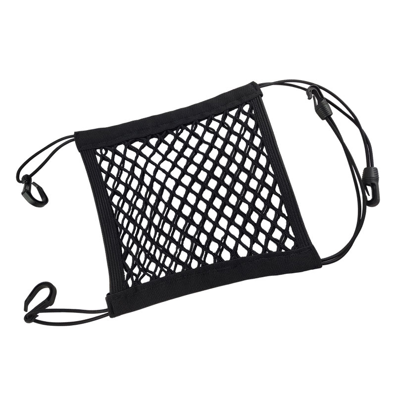 1X Universal Car Organizer Net Mesh Trunk goods Storage Seat Back Stowing Tidying mesh in trunk Bag Network Interior Accessories