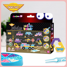 DOLLRYGA Water Beads Set Education Spray Bead 66624C Quality juguetes Beads DIY Toys for Children Aqua Perlen Kid Bead Girl Gift