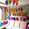 Lovely Alphabet Wedding Party Birthday Christmas Party Gold Foil 16 Balloons Foil Letters A Z 26pcs