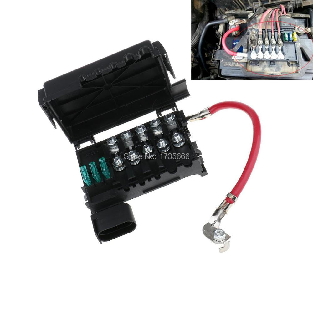 new auto car fuse box battery terminal for vw beetle golf volkswagen  battery fuse box vw battery fuse box melting