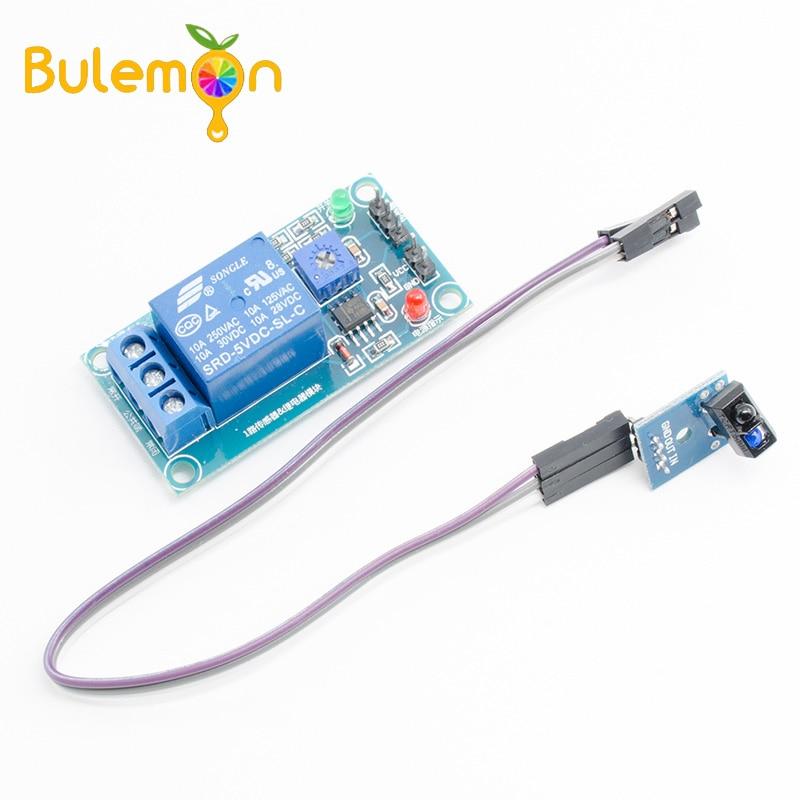 TCRT5000 Infrared Photoelectric Switch Sensor IR Reflective Relay Module