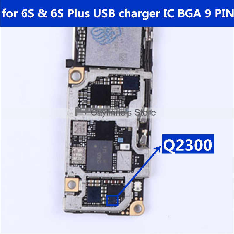 competitive price 51554 0c23d Q2300 for iPhone 6S & 6S Plus 6SP USB charger IC charging chip 9 ...