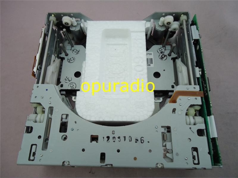 Brandnew Fujitsu ten 6 Disc CD changer mechanism two motor up for Lexus Cadillak Furd Suzuky