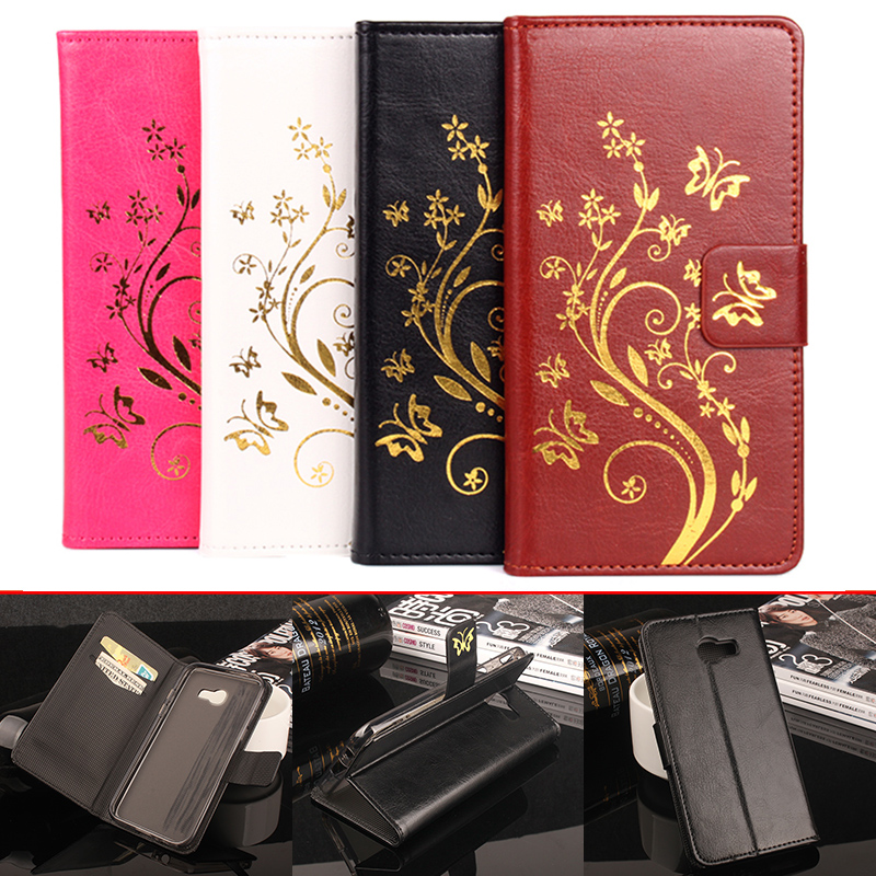 Leather Case for Samsung Galaxy A5 2017 Wallet Style Flip Cover Case for Samsung Galaxy A5 2017 A520F A5200 With Stand Function