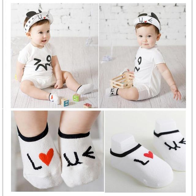 Baby Slippers Floor Cotton Socks