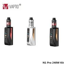 Electronic Cigarette Vaptio N1 Pro 240W kit 2.0 Box Mod 240W with 2ML Frogman Tank Vape Updated from E-Cigarettes N1 Pro 200W